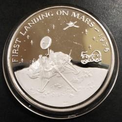 Islas Marshall 50 Dolares 1989 1 Onza Plata UNC