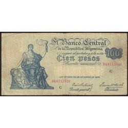 B1895 100 Pesos Progreso C 1937 MB
