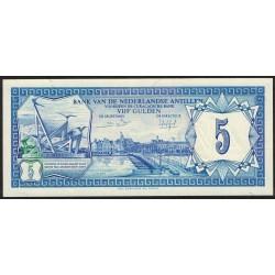 Antillas Holandesas 5 Gulden 1984 P5 UNC