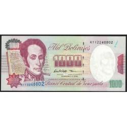 Venezuela 1000 Bolivares 1998 P76 UNC