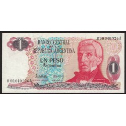 B2603 REPOSICION 1 Peso 1983/84 UNC