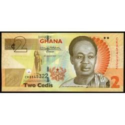 Ghana 2 Cedis 2017 UNC