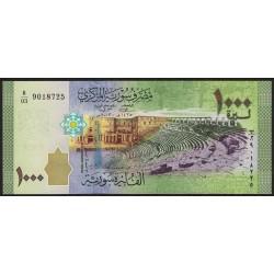 Siria 1000 Libras 2013 P116 UNC