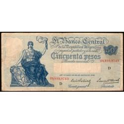 B1895 50 Pesos Progreso D 1940 MB-