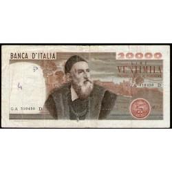 Italia Tiziano 20.000 Liras 1975 P104 B/B+