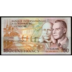 Luxemburgo 100 Francos 1981 P14A UNC