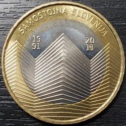 Eslovenia 3 Euro 2011 KM101 UNC