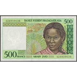 Madagascar 500 Francos P75 UNC