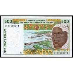 Senegal 500 Francos 1996/98 P710Kg UNC