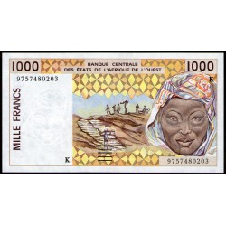 Senegal 1000 Francos 1996/98 P711K UNC