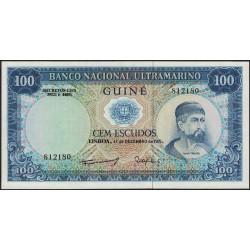 Guinea Portuguesa 100 Escudos 1971 P45 UNC