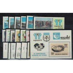 1978 Año Completo - Mint