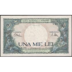 Rumania 1000 Lei 1941 P52 UNC