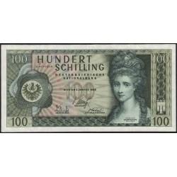 Austria 100 Shillings 1969 P146a MB/EXC
