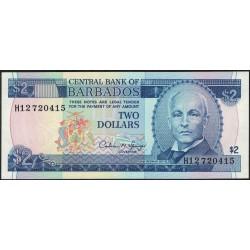 Barbados 2 Dolares 1995 P42 UNC