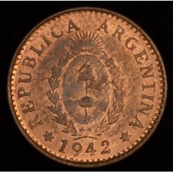 Argentina 1 Centavo 1942 EXC+