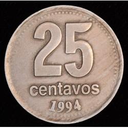Argentina 25 Centavos 1994 Magnetica CJ4.4.4 MB