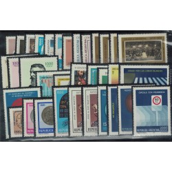 1981 Año Completo - Mint