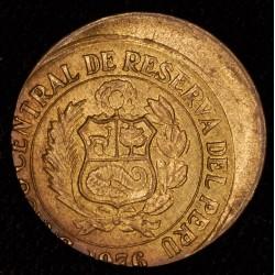 Error Peru 1 Sol 1976 Descentrada EXC