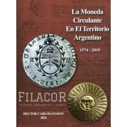 """Catalogo de Monedas Hector Carlos Janson """"La Moneda Circulante en el territorio Argentino 1574-2019"""""""
