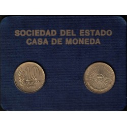 Rep. Argentina Blister Janson BL26 año 1978 Casa de Moneda UNC