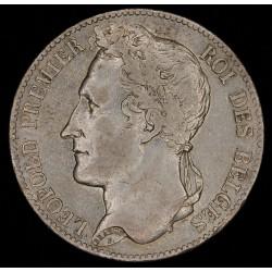 Belgica 5 Francos 1849 KM3.2 Ag MB