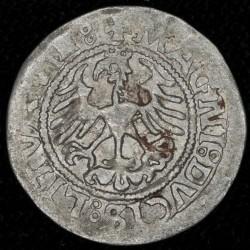 Lituania 1/2 Grosz 1521 Segismundo I Ag MB-