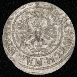 Alemania Prusia Solidus 1628 KM113 Ag MB+