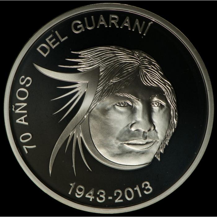Paraguay 1 Guarani 2013 70 Aniversario Indígena Guarani Ag UNC