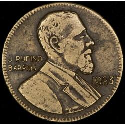 Guatemala 5 Pesos 1923 KM234 Escasa Rufino Barrios B/MB