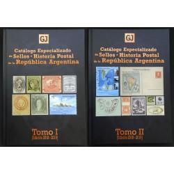 Catálogo de Filatelia Argentina 2019 Gottig Jalil 2 tomos