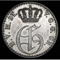 Alemania Mecklemburg Strelitz 1/48 Thaler 1855A KM91 Ag EXC