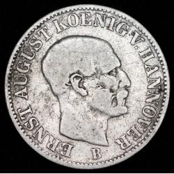 Alemania Hannover 1/12 Thaler 1851B KM206 Ag MB