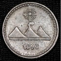 Guatemala 1/4 1890 KM158 Ag MB+