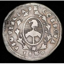 Cordoba 1 Real 1840 PNP A7 R4 CJ19.2.2 Ag MB+