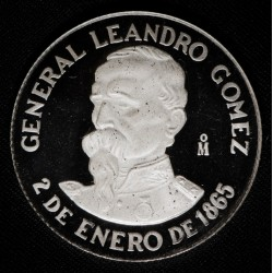Uruguay N$ 500 1986 Gomez Paysandu KM90 Ag Proof UNC