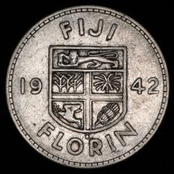 Fiji 1 Florin 1942 S KM13a MB+