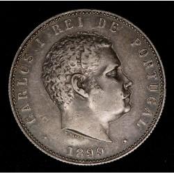 Portugal 1000 Reis 1899 KM540 Ag EXC