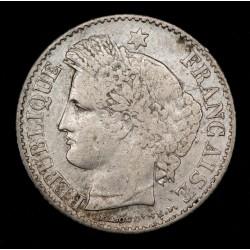 Francia 20 Centimes 1850 A KM758.1 Ag MB+
