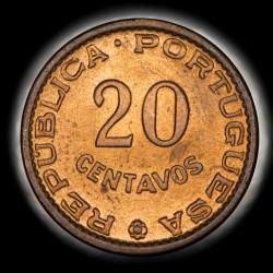 Mozambique 20 Centavos 1961 KM85 UNC