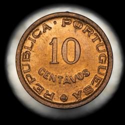 Mozambique 10 Centavos 1960 KM83 UNC