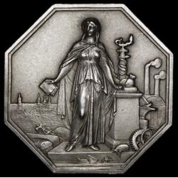 Francia Ficha Sociedad General de Credito Industrial y Comercial año 1859 Ag EXC