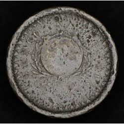 Buenos Aires 20 Decimos 1827 A1 - R1 CJ3.1 Cobre B-