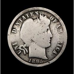 Estados Unidos 1 Centavo de Dolar Barber 1895O KM113 Ag B-