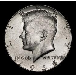Estados Unidos 1/2 Dolar Kennedy 1965 KM202a Ag UNC