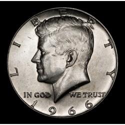 Estados Unidos 1/2 Dolar Kennedy 1966 KM202a Ag UNC