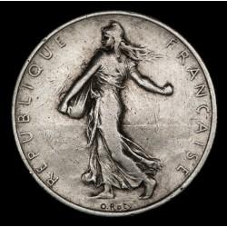 Francia 2 Francos 1917 KM845.1 Ag MB