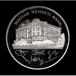 Hungria 200 Forint 1993 Banco Nacional KM689 Proof Ag UNC