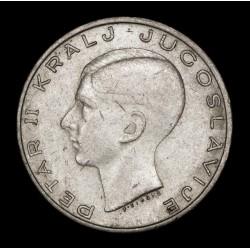 Yugoeslavia 20 Dinara 1938 KM23 Ag EXC