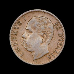 Italia 1 Centesimi 1895R KM29 Cobre MB+